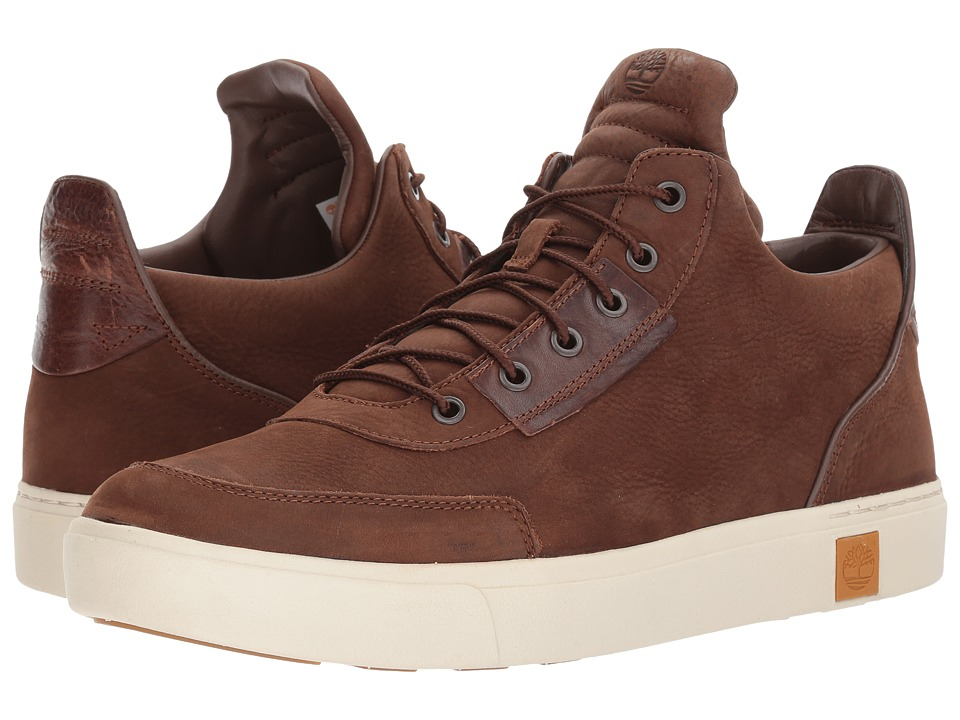 Timberland - Amherst High Top Chukka (Dark Brown Nubuck) Men's Shoes