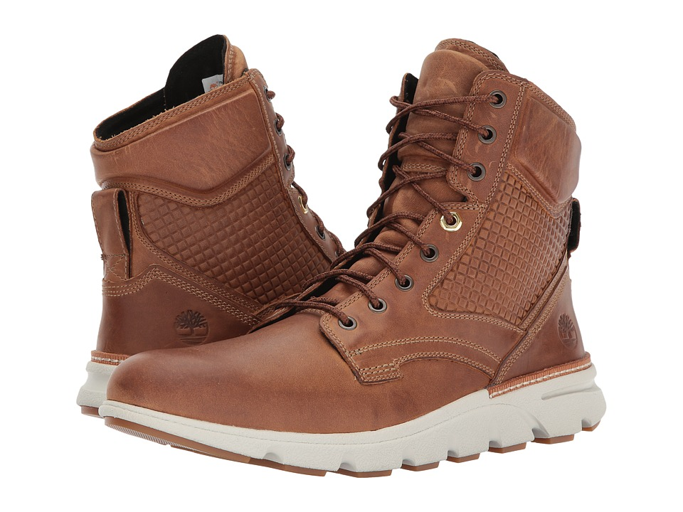 Timberland Eagle Bay Leather Boot (Medium Brown Oiled Nubuck) Men