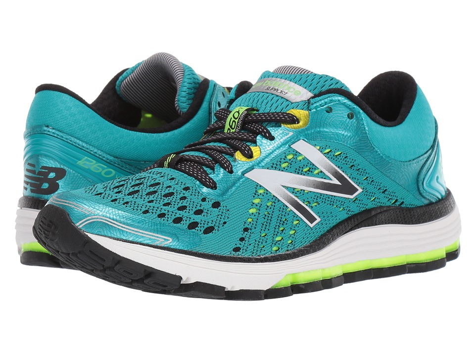 New Balance 1260 V7 (Pisces Blue/Lime Glo) Women's Runnin...