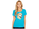Life is Good Yellow Lab Patchwork Crusher Scoop