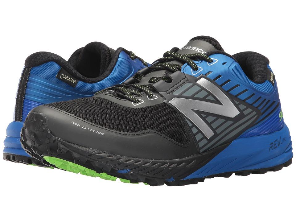 New Balance 910 V4 GTX (Black/Vivd Cobalt) Men