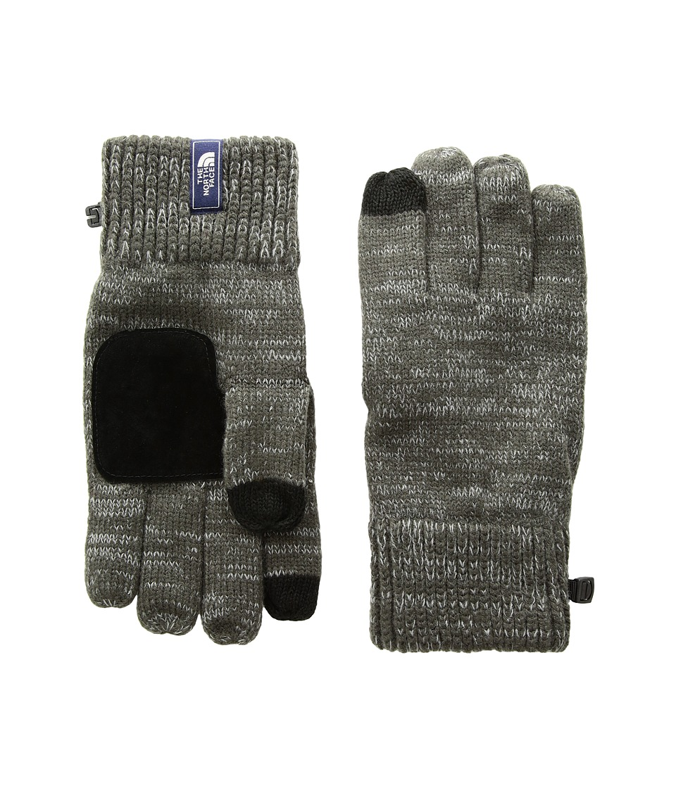 The North Face Salty Dog Etiptm Glove (Graphite Grey/Mid Grey Marl) Extreme Cold Weather Gloves