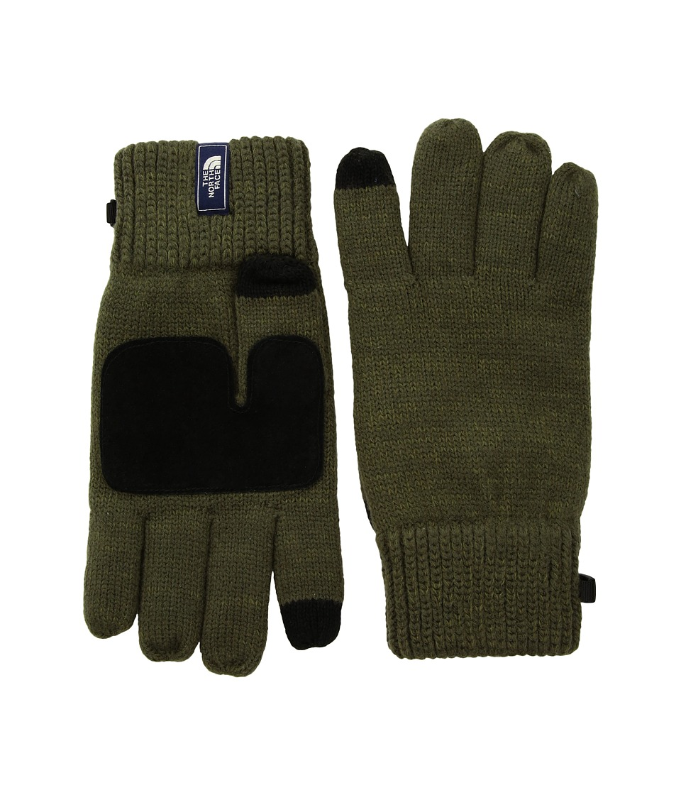 The North Face Salty Dog Etiptm Glove (New Taupe Green/Burnt Olive Marl) Extreme Cold Weather Gloves