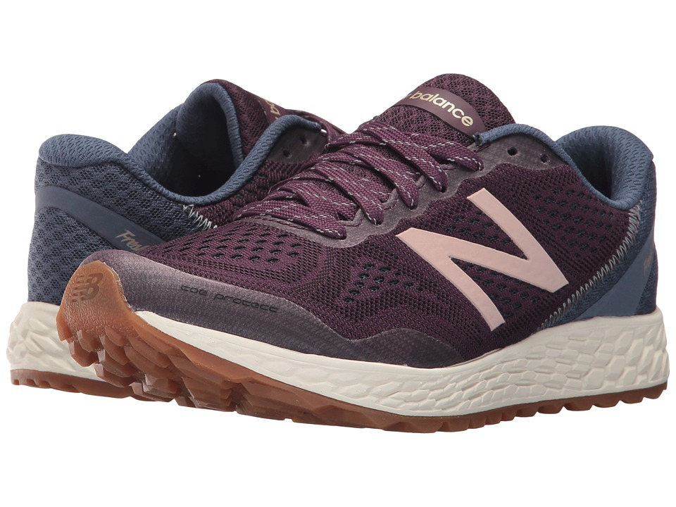 New Balance Fresh Foam Gobi v2 (Aubergine/Vintage Indigo/Rose Gold) Women