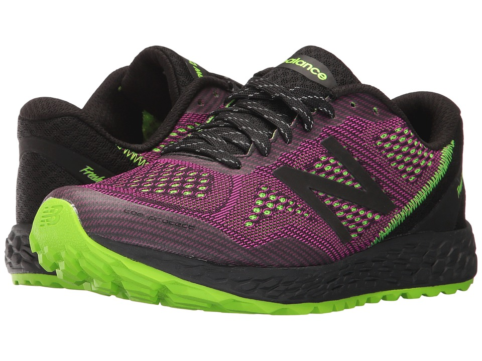 New Balance Fresh Foam Gobi v2 (Poisonberry/Black/Energy Lime) Women