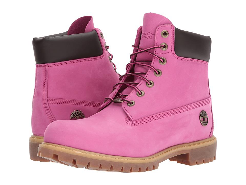 Timberland 6 Premium Boot Susan G. Komen(r) (Ibis Rose Nubuck) Men