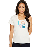 Life is Good - Love Patterns Snuggle Up Sleep Tee