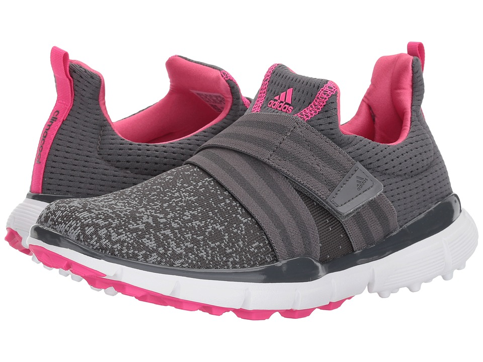 adidas Golf Climacool Knit (Grey Five/Grey Four/Shock Pink) Women's Golf Shoes