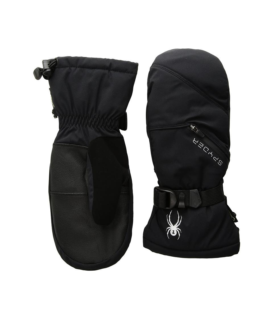 Spyder Vital Gore-Tex(r) Ski Mitten (Black) Ski Gloves
