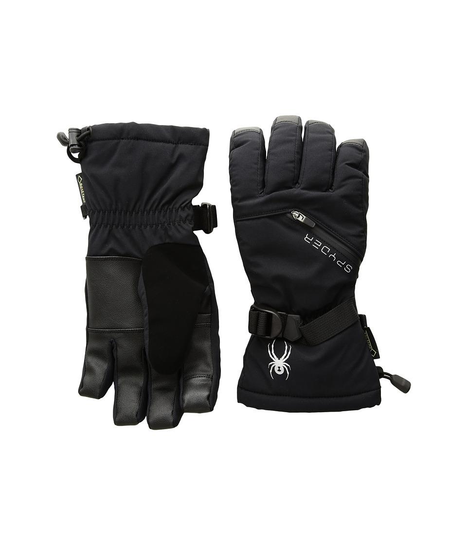 Spyder Vital Gore-Tex(r) Conduct Ski Gloves (Black) Ski Gloves