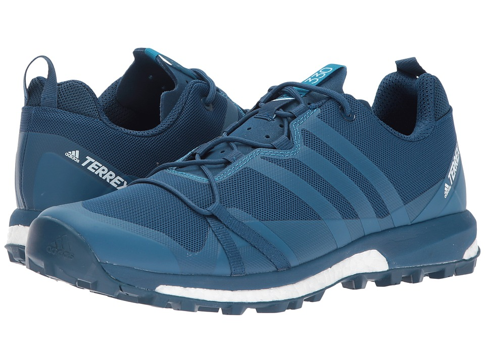 adidas Outdoor Terrex Agravic (Blue Night/Mystery Petrol/White) Men