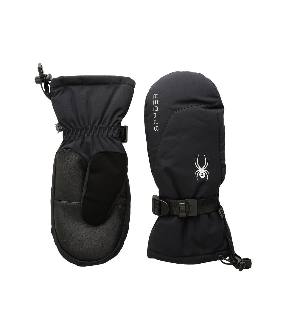 Spyder Essential Ski Mitten (Black/Silver) Ski Gloves