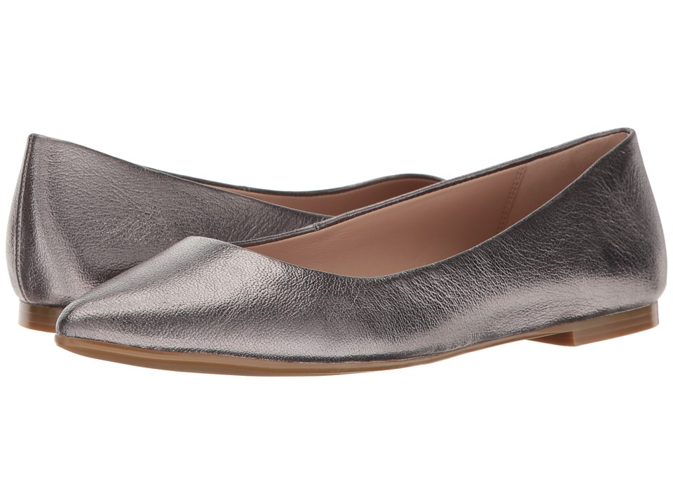 BCBGeneration Millie (Gunmetal Metallic Soft Tumbled Calf) Women