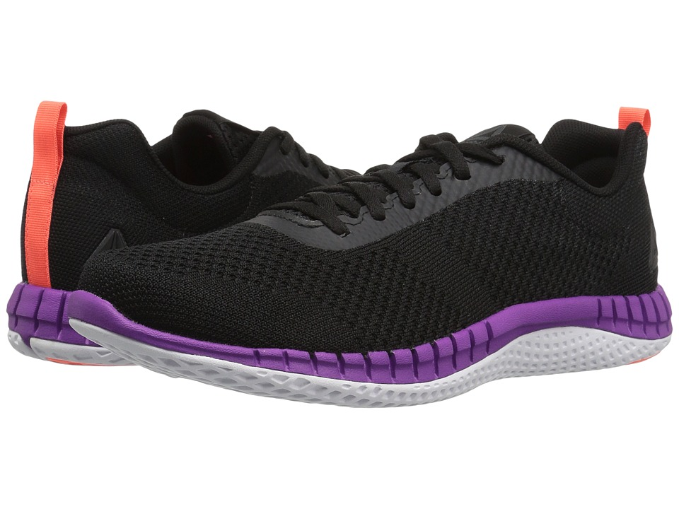 Reebok Print Run Prime ULTK (Coal/Black/Vicious Violet/Guava Punch/White) Women