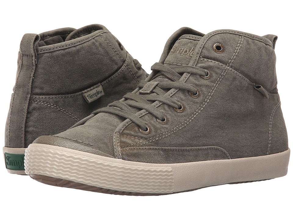 Simple Waltham (Olive Dye Wash Canvas) Men