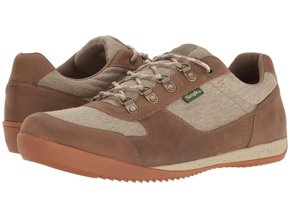 Simple Altus (Olive Canvas/Tan Leather) Men