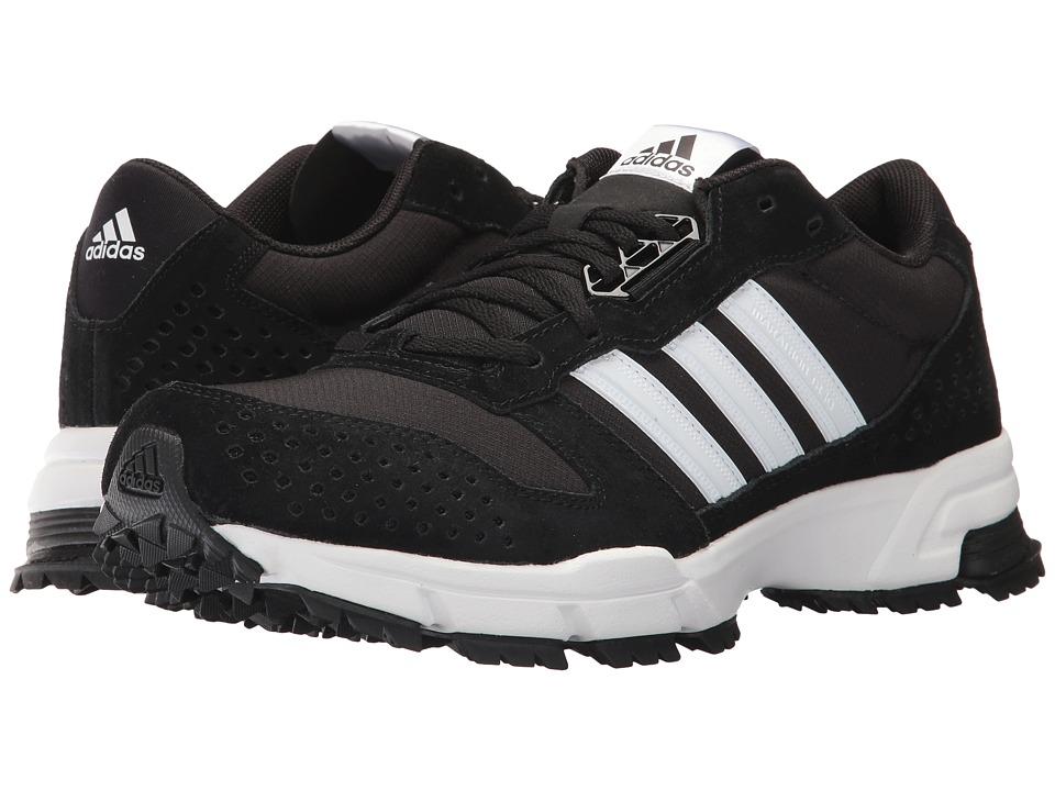 Adidas Outdoor - Marathon 10 Trail (Black/White/White) Me...