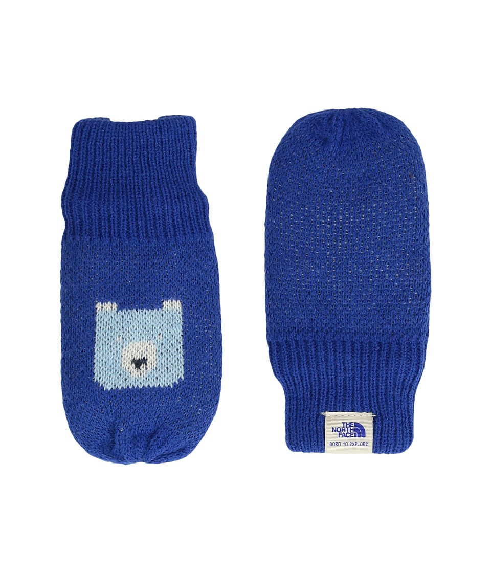 The North Face Kids - Faroe Mitt (Infant) (Bright Cobalt Blue/Sky Blue) Extreme Cold Weather Gloves
