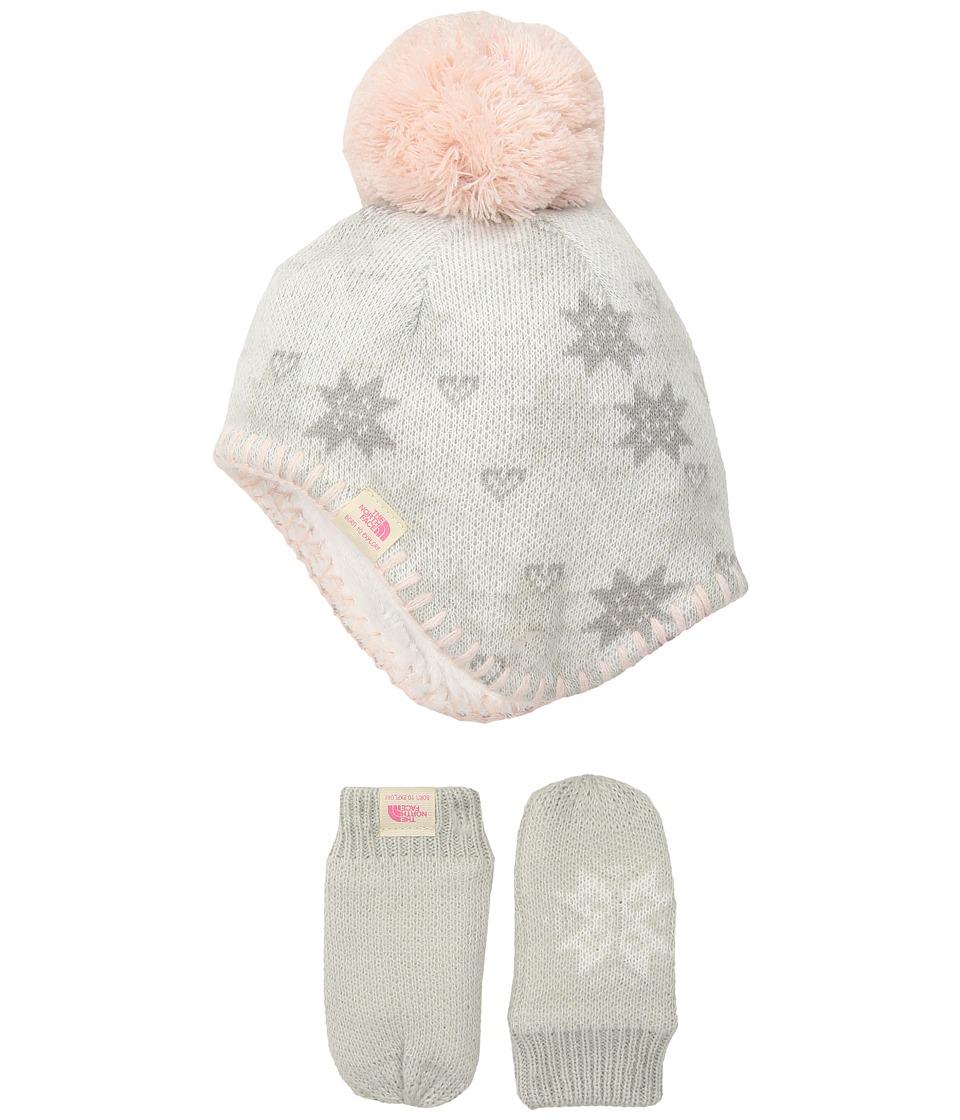 North Face Faroe Box Set (Infant) (TNF White Multi) Knit ...