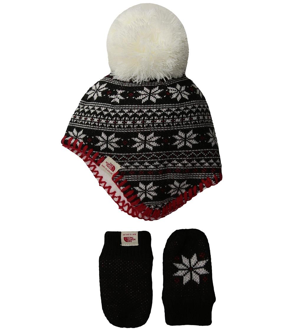 North Face Faroe Box Set (Infant) (TNF Black Multi) Knit ...