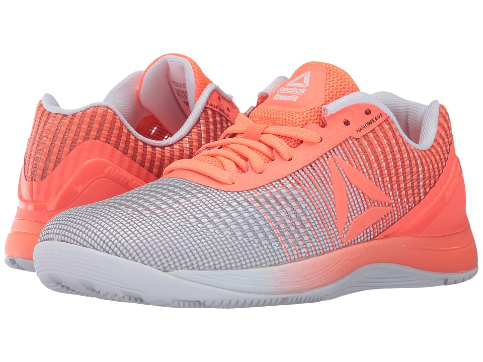 Reebok Crossfit(r) Nano 7.0 Weave (Guava Punch/White) Women