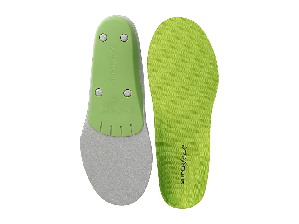 Superfeet - Premium Green - Wide Fit (Green - Wide) Insoles Accessories Shoes