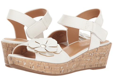 Nine West Kids Nickey (Little Kid/Big Kid) - White