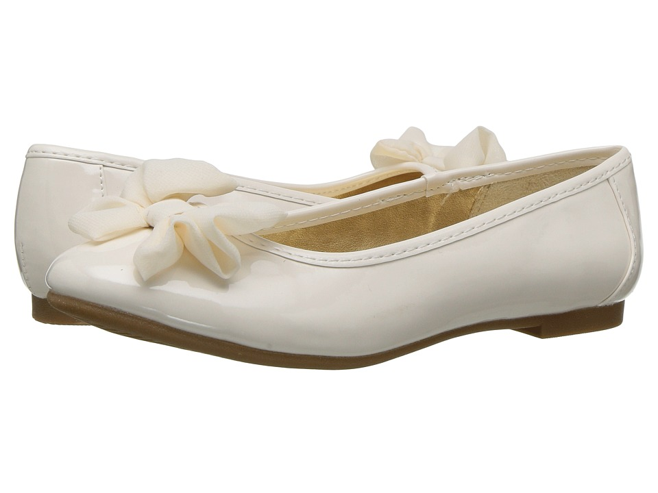 Nine West Kids - Larah (Little Kid/Big Kid) (Ivory Patent) Girls Shoes