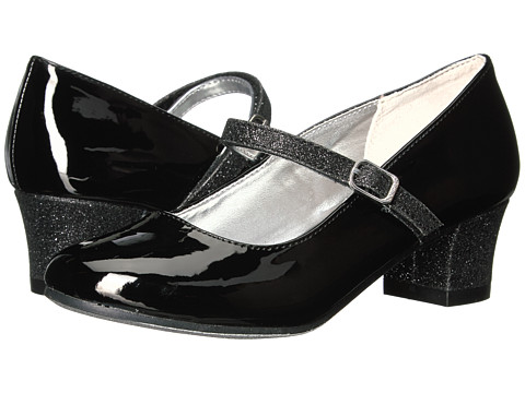 Nine West Kids Patrece (Little Kid/Big Kid) - Black Patent