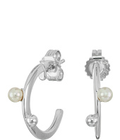 Majorica - Hoop Post Pearl Earrings