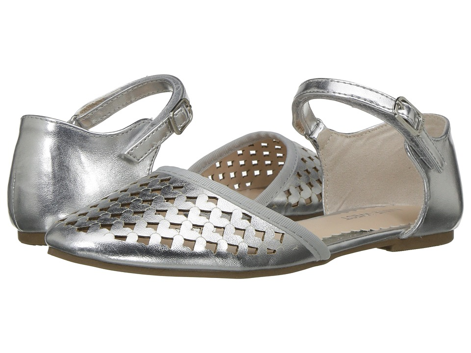 Nine West Kids - Vivien (Little Kid/Big Kid) (Silver) Girls Shoes