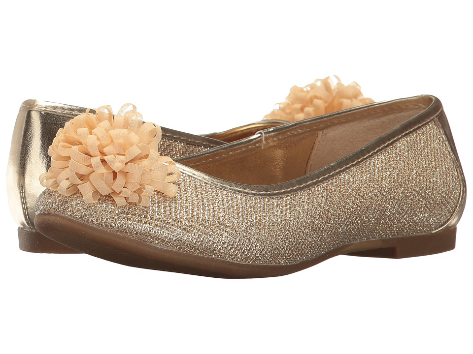 Nine West Kids - Valeriah (Little Kid/Big Kid) (Gold Glitter) Girls Shoes