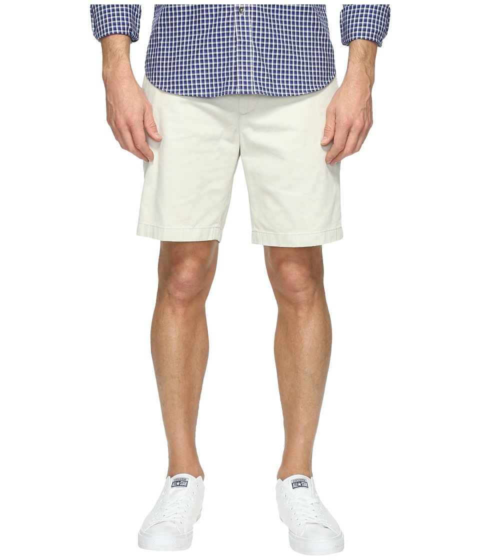 Nautica Anchor Twill Flat Front Shorts (Nautica Stone) Men