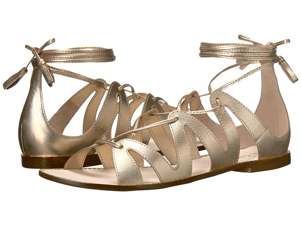 Lilly Pulitzer - Fit to Be Tied Sandal (Gold Metallic) Women's Sandals