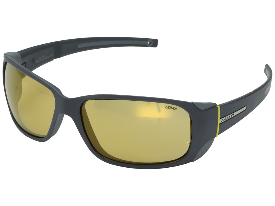 Julbo Eyewear - Montebianco Sunglasses (Grey with Zebra Photochromic Lens) Sport Sunglasses