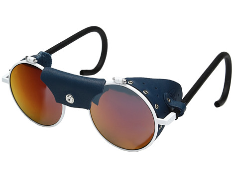 Julbo Eyewear Vermont Classic Sunglasses - White/Blue with Spectron 3 Color Flash Lens