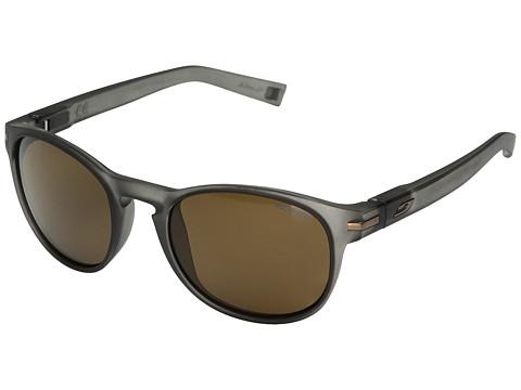Julbo Eyewear Valparaiso Sunglasses - Translucent Black With Polarized 3 Lens