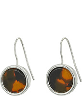 LAUREN Ralph Lauren - Round Tortoise Drop Earrings