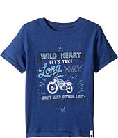 Lucky Brand Kids - Long Way Tee w/ Short Sleeves (Little Kids/Big Kids)