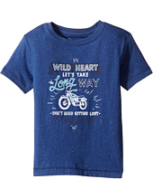 Lucky Brand Kids - Long Way Tee w/ Short Sleeves (Toddler)