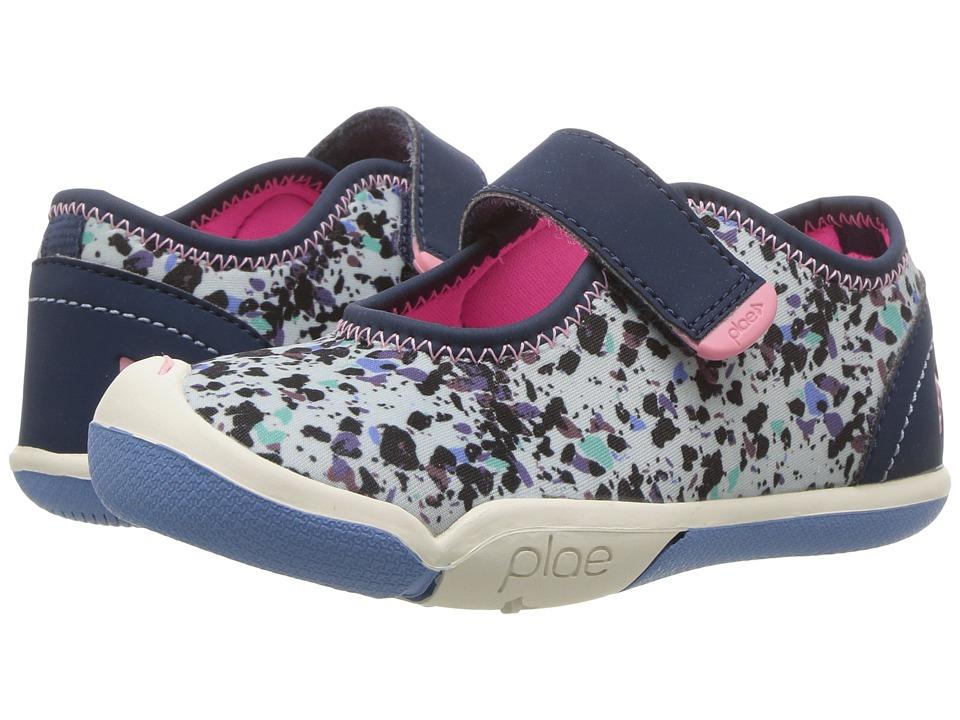 PLAE Chloe (Toddler/Little Kid) (Star Dust Blue) Girl's Shoes