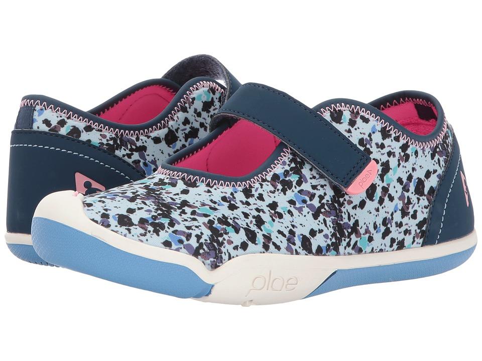 PLAE Chloe (Little Kid/Big Kid) (Star Dust Blue) Girl's Shoes