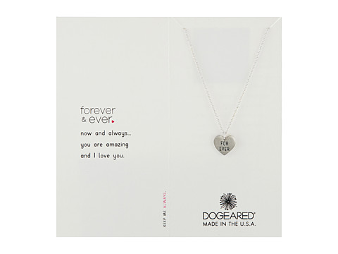 Dogeared Forever and Ever Necklace - Sterling Silver