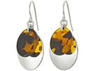 LAUREN Ralph Lauren Double Oval Metal Drop Earrings