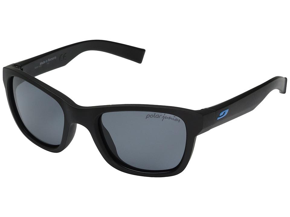 Julbo Eyewear Reach L Sunglasses (10-15 Years Old) (Black Matte 2 With Polarized 3 Lens) Sport Sunglasses