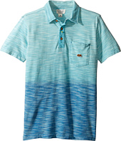 Lucky Brand Kids - Short Sleeve Tidal Polo in Dye Slub Pique (Big Kids)