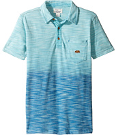 Lucky Brand Kids - Short Sleeve Tidal Polo in Dye Slub Pique (Little Kids/Big Kids)