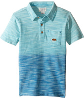 Lucky Brand Kids - Short Sleeve Tidal Polo in Dye Slub Pique (Toddler)