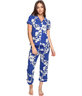 BedHead - Short Sleeve Cropped Pants PJ Set