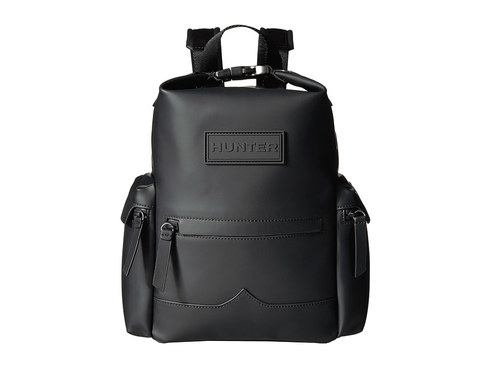 Hunter Original Mini Top Clip Backpack Rubberized Leather...